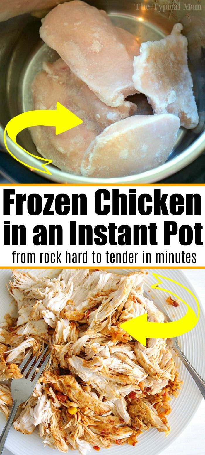 How Long To Cook Frozen Chicken Breast In Instant Pot Frozen Chicken In The Instant Pot In 2020 Cooking Frozen Chicken Instant Pot Dinner Recipes Instant Pot Recipes Chicken