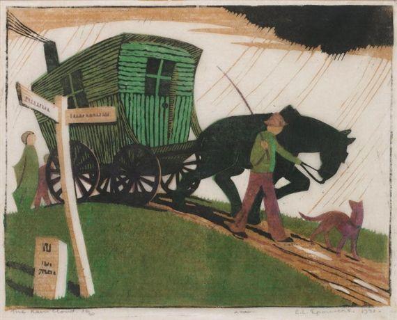 Ethel Spowers, The Rain Cloud (Coppel ES 16)
