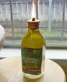 How to make an olive oil lamp - San Antonio DIY | Examiner.com