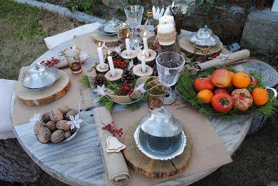 Gömeçtevim yılbaşı masaları