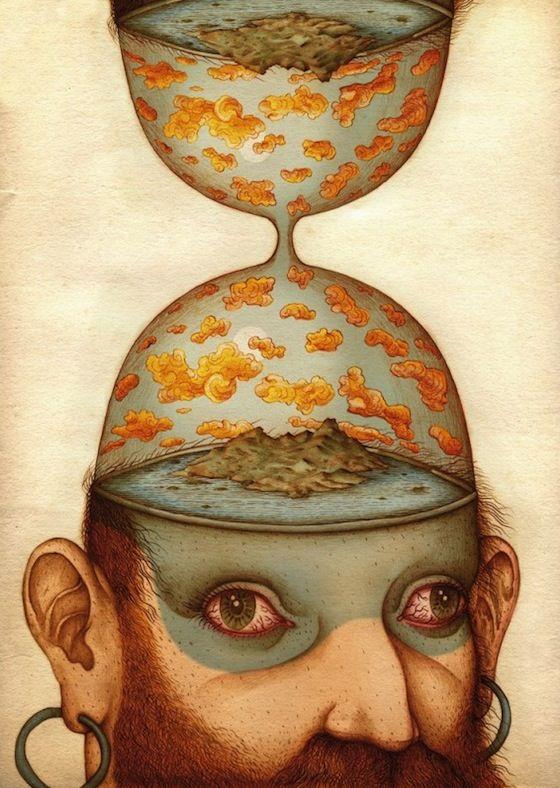 Viaggio nel fantasmagorico giardino di Apparitio Albinus (Logos Edizioni) dell'illustratore...