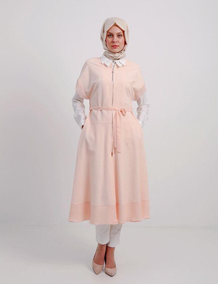 En Guzel Tesettur Yazlik Kap Modelleri Moda Tesettur Giyim Moda Stilleri Giyim Uzun Etek