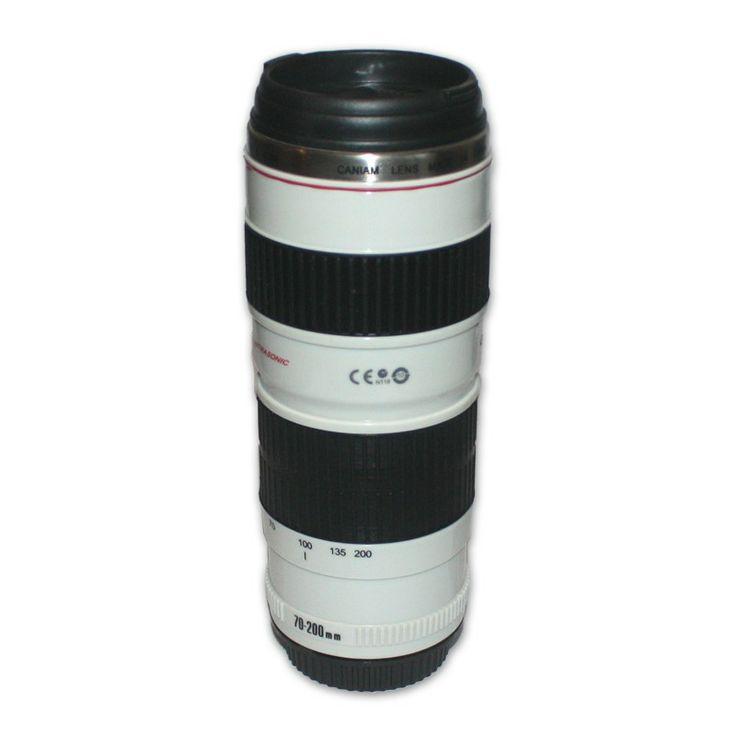 Caneca de lente de Câmera #fotografia #lente #termica #presentes #fotografo #universoonassis