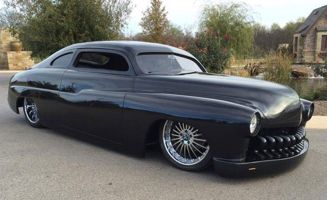 1950 Mercury Lead Sled sold at the 2015 Barrett-Jackson Auction