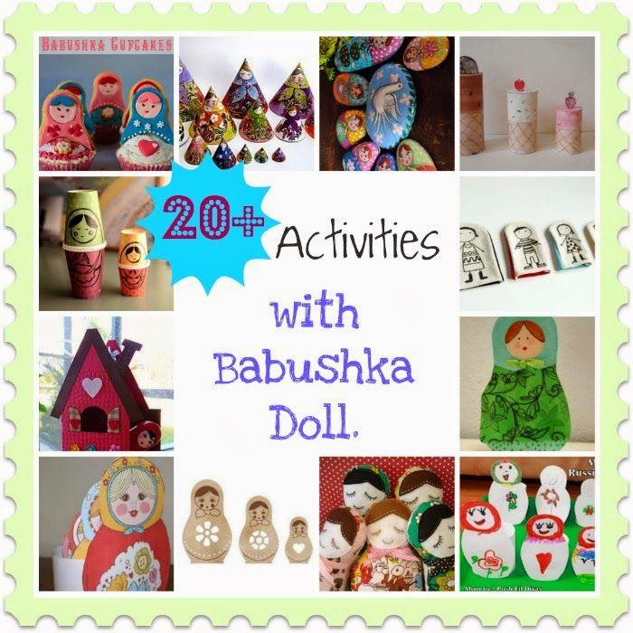 Montessori Nature: 20+ Activities with { Babushka } { Matreshka } { Nesting } Doll