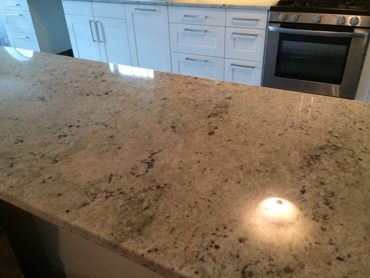 Colonial White granite countertop | Ideas for the House