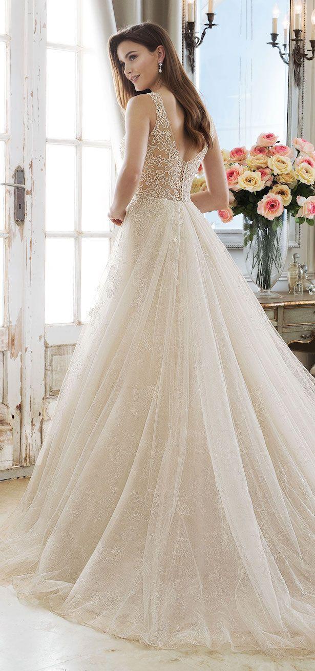 dbdd03e750 Sophia Tolli Wedding Dress Collection Spring 2018  weddingdresses   weddinggowns  bridaldress  bride  bridal  bridalgown  brides  weddings