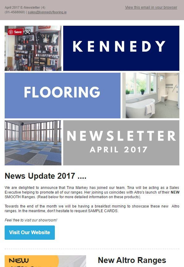 Best Monthly Newsletters Images On   Flooring Floors
