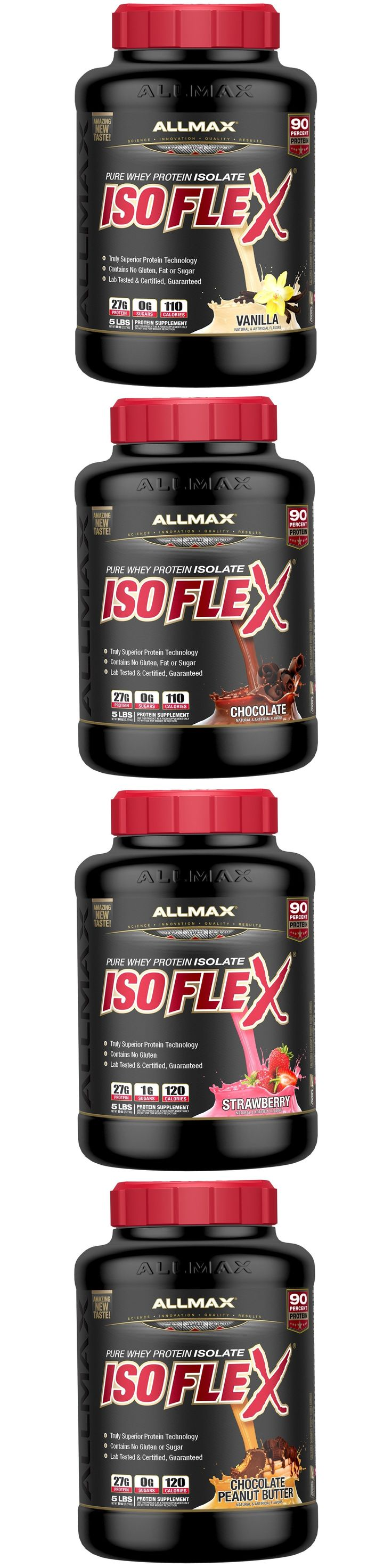 Health And Fitness: Allmax Nutrition Isoflex Isolate Whey Protein - Free Shipping! BUY IT NOW ONLY: $36.99