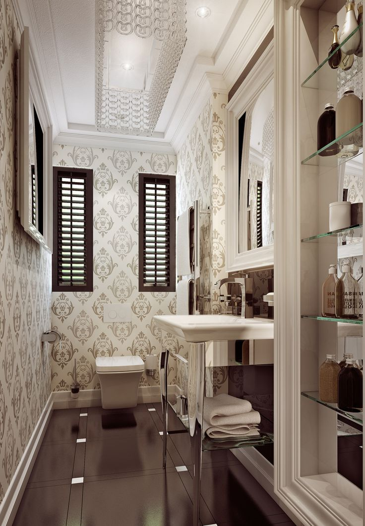 Give the same attention to the design and decor of your guest bathrooms as any other space in your home.