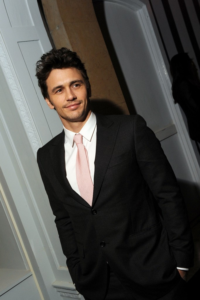 James Franco in Gucci at the New York 'Oz' Screening