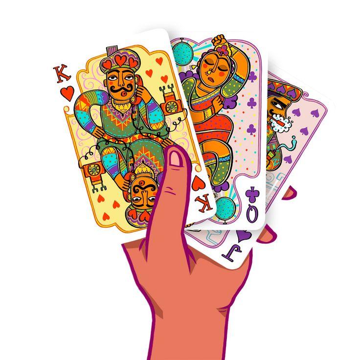 Chumbak's Mad Madhubani Playing Cards