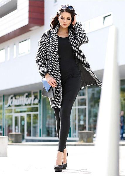 #dots #coat #autmun #trends #bonprix