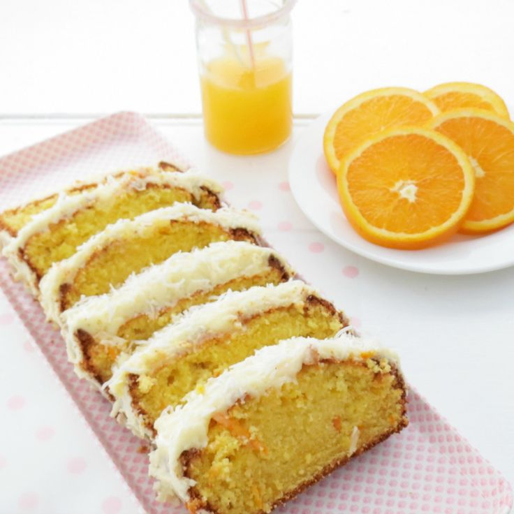 Get your citrus on with these amazing sweet treats like this Easy Orange Cake with Orange Icing by lynn.