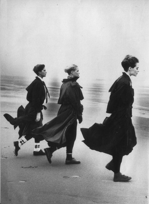 Peter Lindbergh - Comme des Graçons Fantastic photographer! -repinned by California portrait photographer http://LinneaLenkus.com