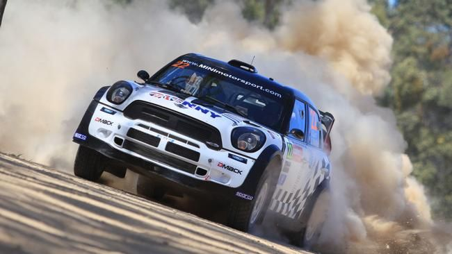 2013 Rally Australia drivers tear it up at Coffs Harbour qualifying round