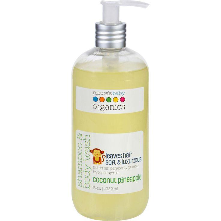35 best Organic Baby Shampoo & Wash images on Pinterest ...
