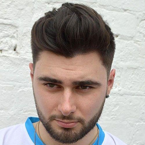 Guy Frisur runden Gesicht | Trendy Frisuren ideen 21 ...