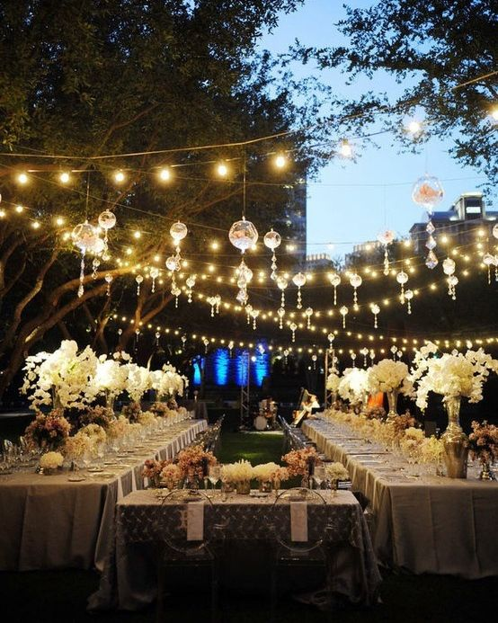 Great gatsby soiree inspiration gatsby party gatsby and for Outdoor wedding table decorations