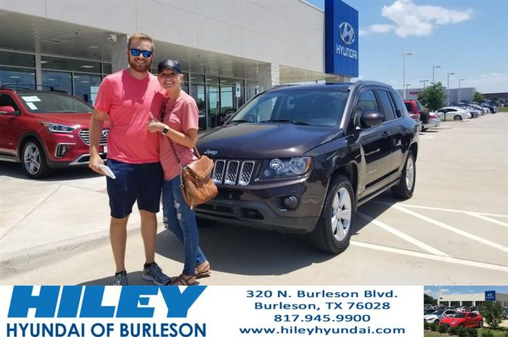 Congratulations Chelsea on your #Jeep #Compass from Chad Mohler at Hiley Hyundai of Burleson!  https://deliverymaxx.com/DealerReviews.aspx?DealerCode=KNWA  #HileyHyundaiofBurleson