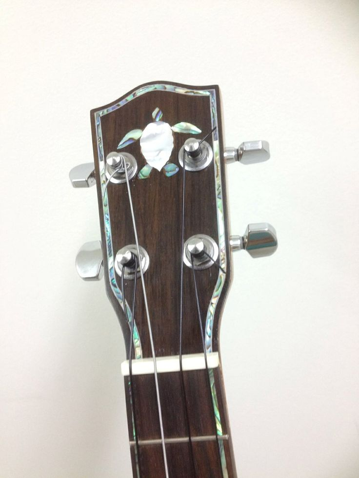 Paua and MOP Headstock Work