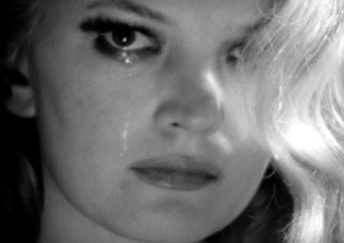 """Gena Rowlands in Faces (1968, dir. John Cassavetes)  """"I'm too old to be lovely. And I haven't got a heart of gold."""""""