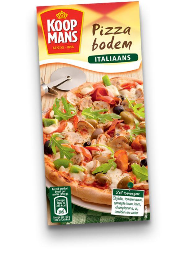 Maak een Italiaanse pizza met een heerlijke dunne, krokante bodem!