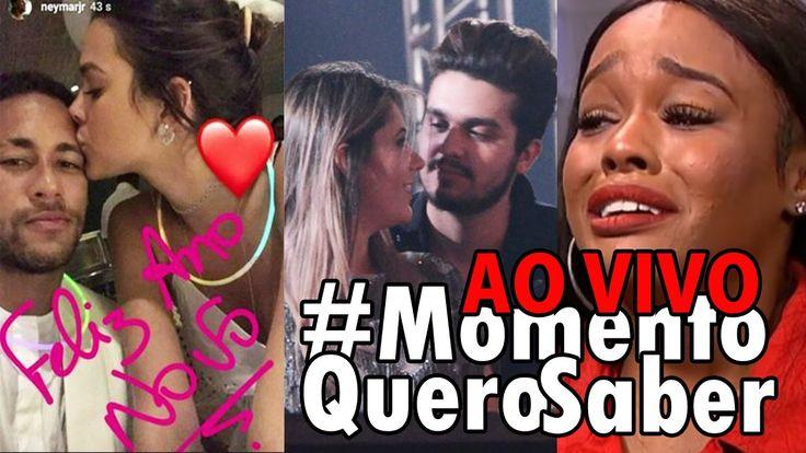 🔴[AO VIVO] NEYMAR e BRUNA + LUAN e JADE é pra VALER? | CANTORA AMERICANA xinga BRAZILEIROS | E mais - YouTube