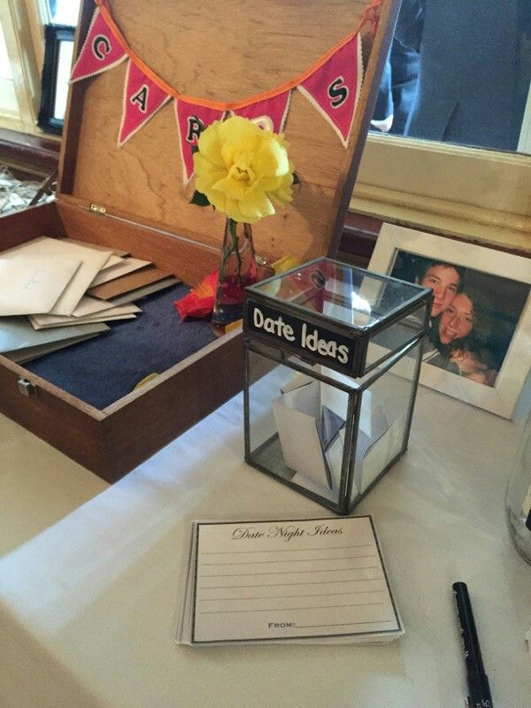 Card box and date night ideas