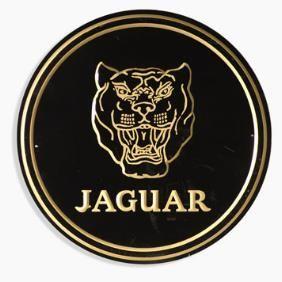 Vintage Jaguar Metal Sign