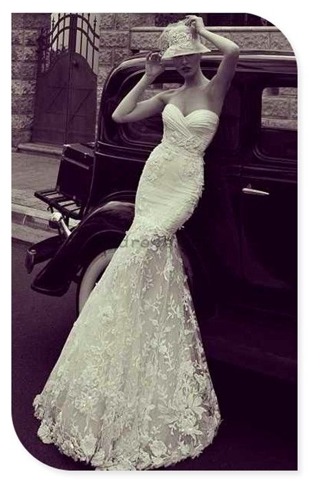 vintage wedding dress vintage wedding dresses -- i love the hat, maybe for bridal party photos