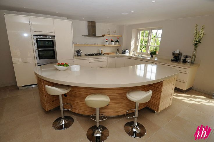 curved kitchen top - Google Search