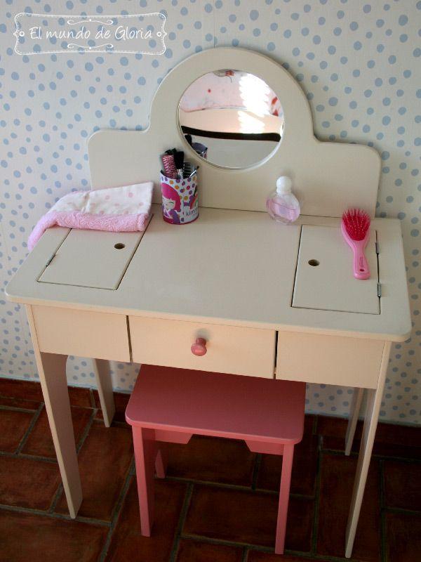 M s de 25 ideas incre bles sobre tocador infantil en pinterest - Tocador madera nina ...