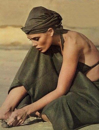 Margaux Hemingway - Vogue, April 1975