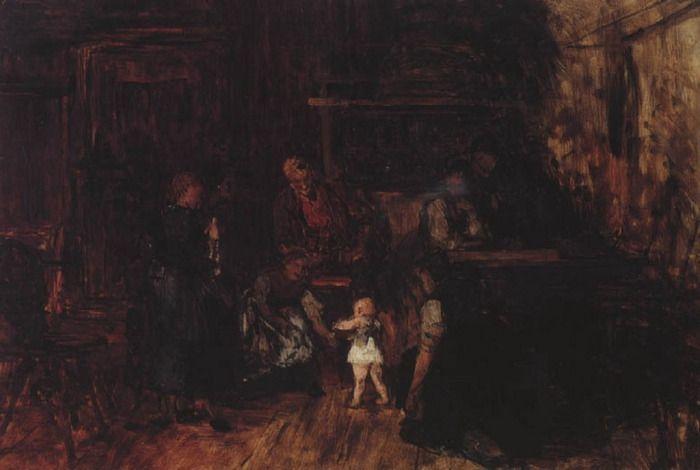 .:. Γύζης Νικόλαος – Gyzis Nikolaos [1842-1901]Τα πρώτα βήματα
