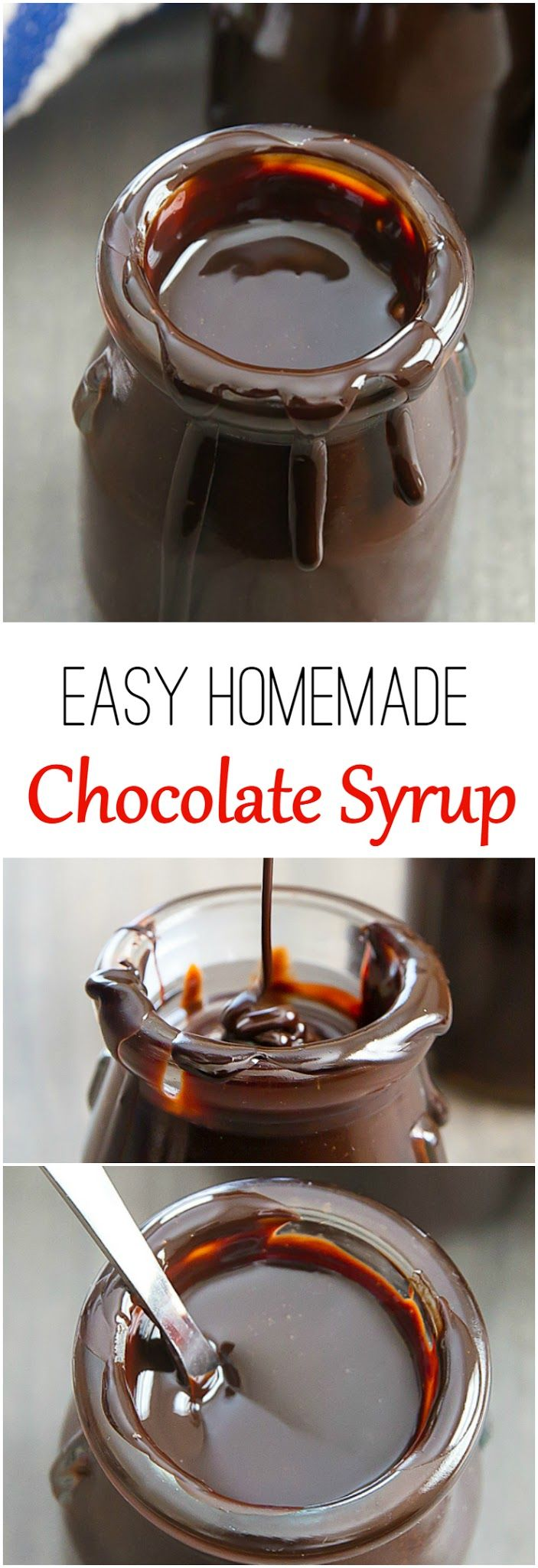 Best 25+ Homemade chocolate syrup ideas on Pinterest | Hershey ...