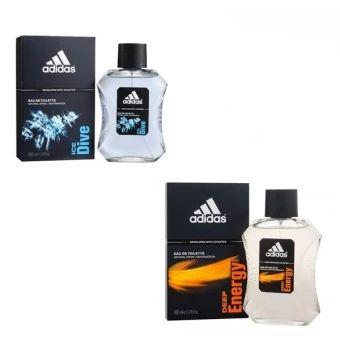 อย่าช้า  Adidas Ice Dive Adidas for men EDT 100 ml +Adidas Deep EnergyAdidas for men 100 ml พร้อมกล่อง  ราคาเพียง  600 บาท  เท่านั้น คุณสมบัติ มีดังนี้ กลิ่นหอมโดดเด่น กลิ่นติดทนนาน เพิ่มเสน่ห์ให้ตนเอง