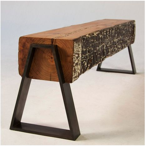 Modern Rustic Wood Furniture 227 best wood and metal furniture images on pinterest | metal