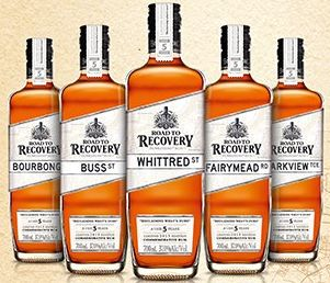 Bundaberg Rum ~ Road to Recovery ~ 171 different street names.
