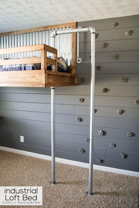 Designing Your Own Bedroom 17 Beste Ideer Om Industrial Loft Beds På Pinterest
