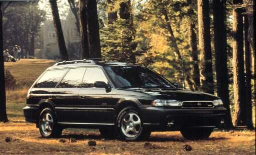 Subaru Legacy Outback. This era outback would make a great company car.