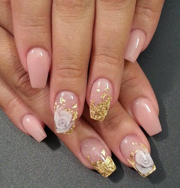Nail Colors Youtube: Best 25+ Gold Toe Nails Ideas On Pinterest