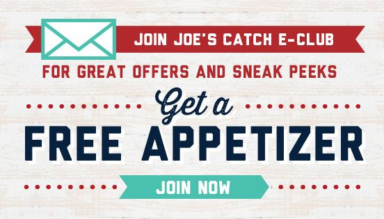 Joe's Crab Shack - Joe's Daily Specials