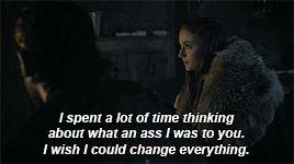 Sansa and Jon Snow - Book Of The Stranger Season 6 Episode 4