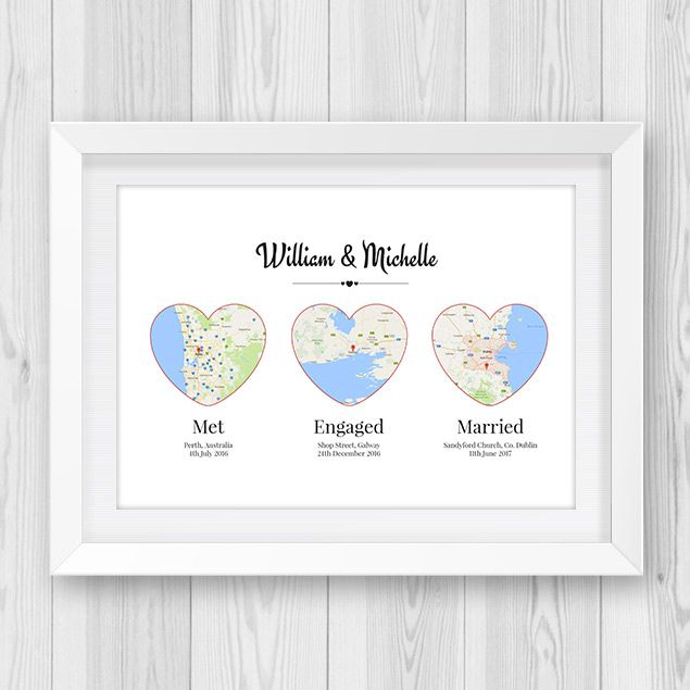 43 best engagement gift ideas images on pinterest engagement the 3 hearts engagement gift is such a cute engagement gift and is sure negle Choice Image