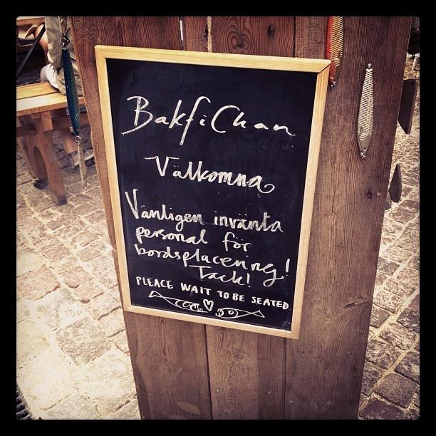 Bakfickan, Visby