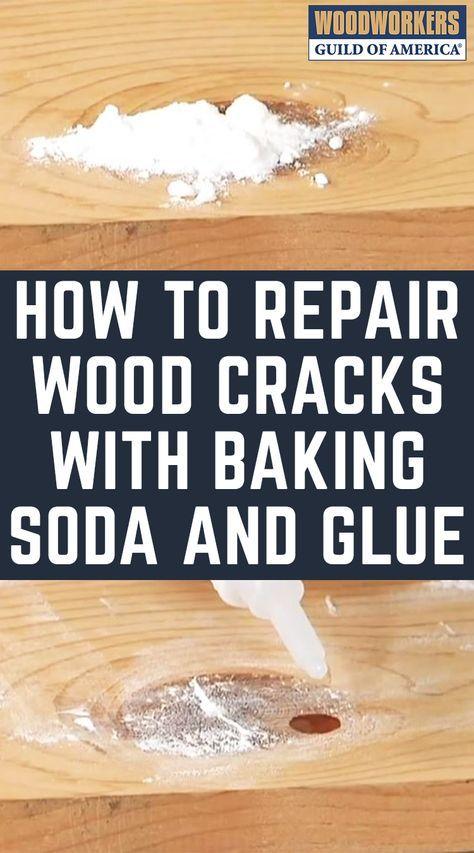 How to Repair Wood Cracks