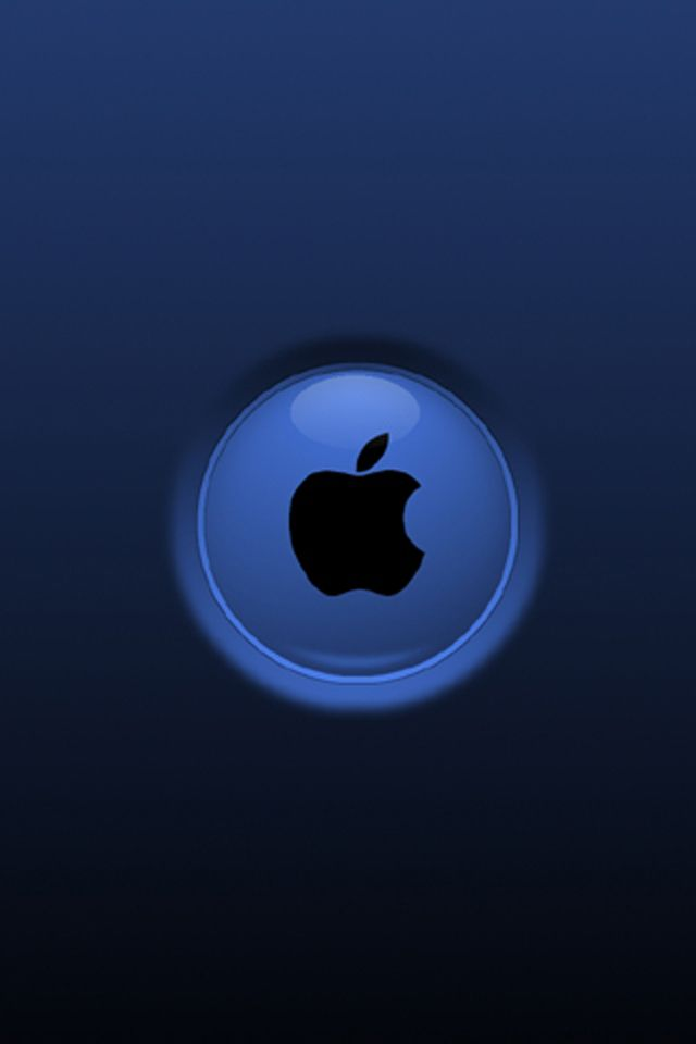 wallpaper for iphones Download Apple blue for iPhone 4