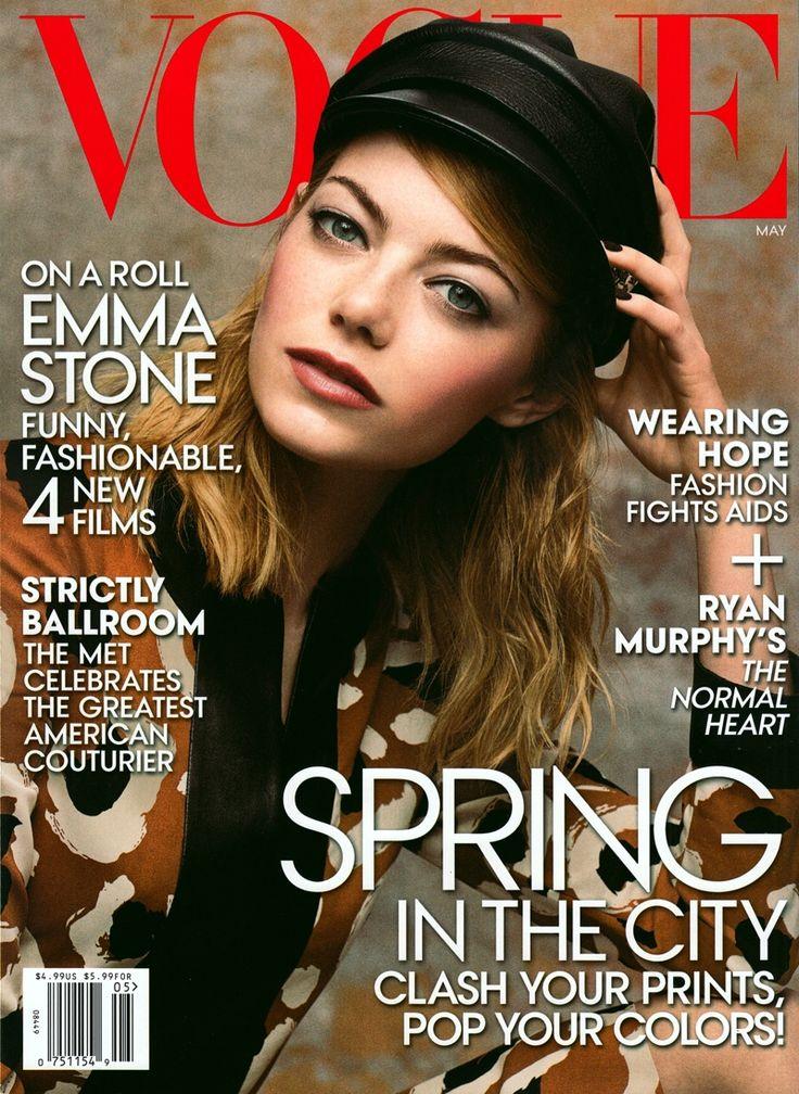 Image result for emma stone vogue cover