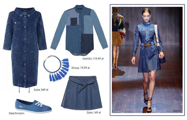 Total jeans! Więcej stylizacji oraz historie kultowych marek znajdziecie na http://sferafashion.com.pl/total-jeans-niebiesko-mi/